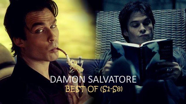 Damon Salvatore   The Best of HUMOR (S1-S8)
