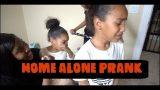HOME ALONE PRANK ON KIDS !!! (BIG NEW HOUSE)
