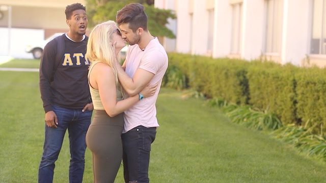 Kissing Prank – Couples EDITION!