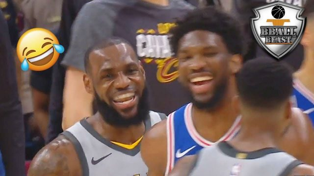 "NBA ""BLOOPERS AND FUNNY"" Moments 2018"