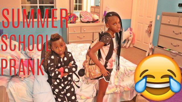 SUMMER SCHOOL PRANK ON THE KIDS