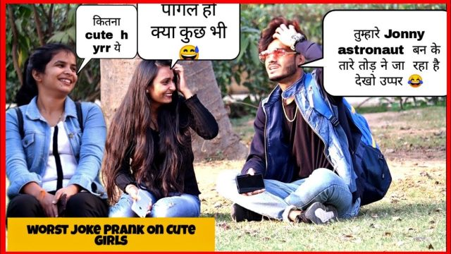 Funny Jokes Prank On Cute Girls || Pranks 2019 || SAHIL KHAN Production