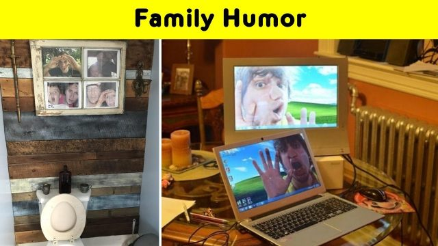 Funny Pics Proving That Humor Is Very Important For A Family