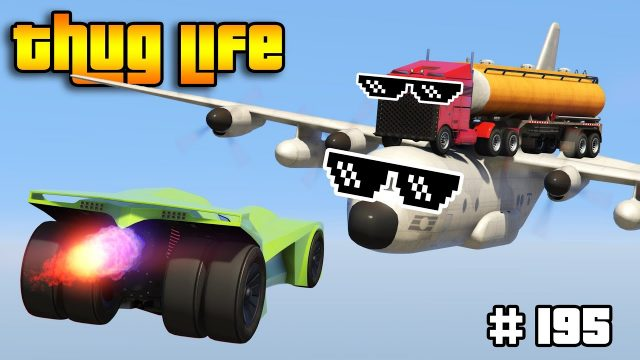GTA 5 THUG LIFE AND FUNNY MOMENTS (Wins, Stunts and Fails #195)