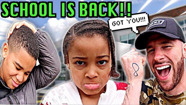 SCHOOL IS BACK PRANK ON KIDS *Lockdown is over*