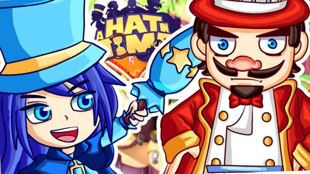 SHE BETRAYS ME!! EPIC FUNNY BOSS BATTLE! (A Hat in Time) #2