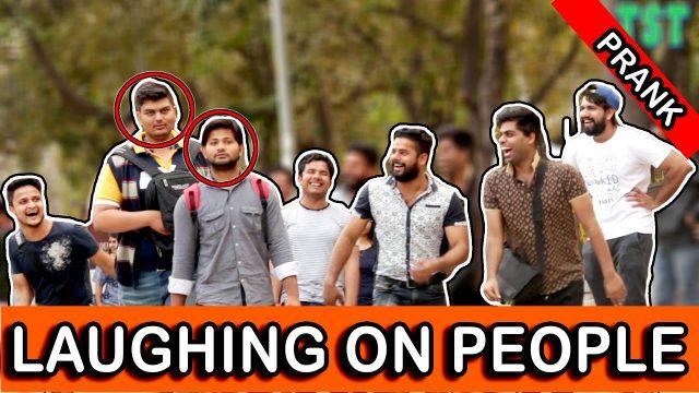 Laughing On People Prank – TST – Pranks in India