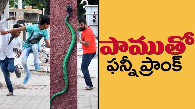 Epic Snake Prank | Pranks in Telugu | Pranks in Hyderabad 2018 | FunPataka