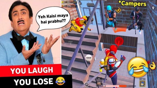 TRY NOT TO LAUGH 😂🔥IMPOSSIBLE CHALLENGE EVER   PUBG MOBILE FUNNY MOMENTS