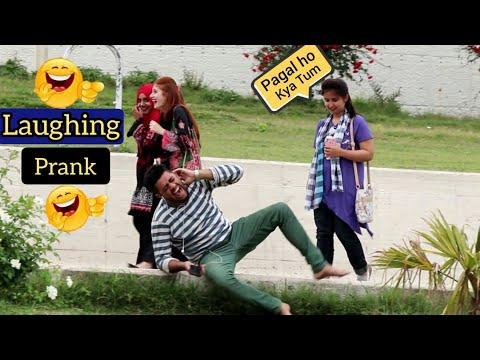Crazy Laughing Prank in Public Places Pakistan   New Funny Prank 2019   Naseem Raja