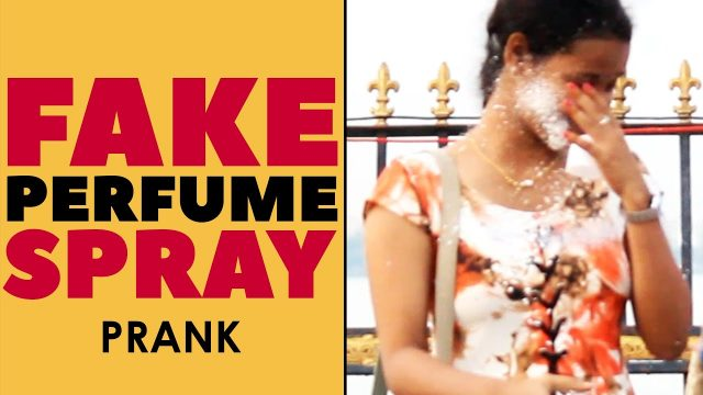 Fake Perfume Spray Prank in Telugu   Food for Old Age Home   Latest Telugu Pranks   FunPataka